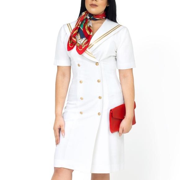 Leslie Fay Dresses & Skirts - Vintage Nautical Dress